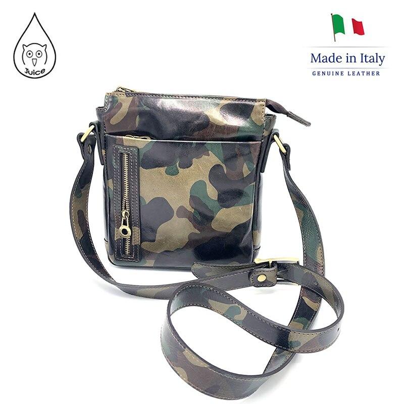 JUICE 2020 Spring,made In Italy, Genuine Leather Bag, Men/women Bag,men/women Cross Body/Shoulder Bags,Italian Cowhide,112231