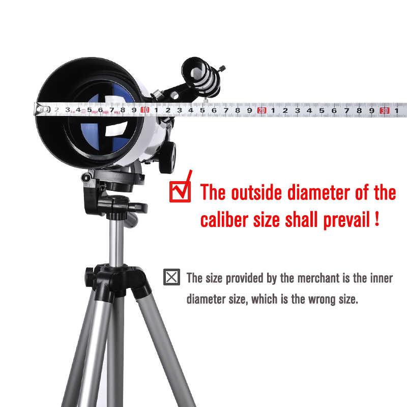 고정 직경 50mm ~ 225mm 알루미늄 합금 태양 필터 태양 필름 멤브레인 5.0 렌즈 천체 천문 망원경 바드 필름 Baade