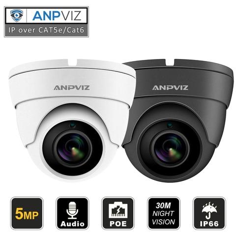 compativel hikvision 5mp ip poe camera ao ar livre indoor h 265 dome seguranca cctv