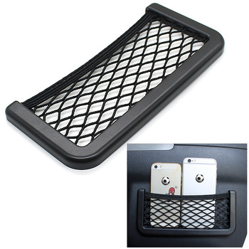 For Toyota RAV4 2013 - 2018 Car Seat Back Storage Net Bag Phone Holder Car Seat Mesh Organizer Pockets Trunk Net Accessories image