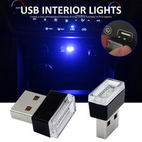 USB LED light atmosphere lights modification light decoration light atmosphere light car foot lamp