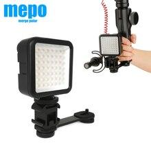 Osmo Mobile 3 OM 4 palmare supporto cardanico fotografia LED luce microfono barra di prolunga per Zhiyun Smooth 4 DJI Osmo DSLR Camera