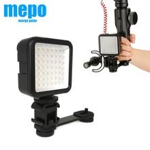 Osmo mobil 3 OM 4 el Gimbal dağı fotoğraf LED ışık mikrofon uzatma çubuğu Zhiyun pürüzsüz 4 DJI Osmo DSLR kamera