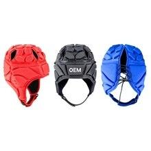 Спорт на открытом воздухе футбольный голкиперский шлем регби, футбол головной убор шлем для вратаря протектор