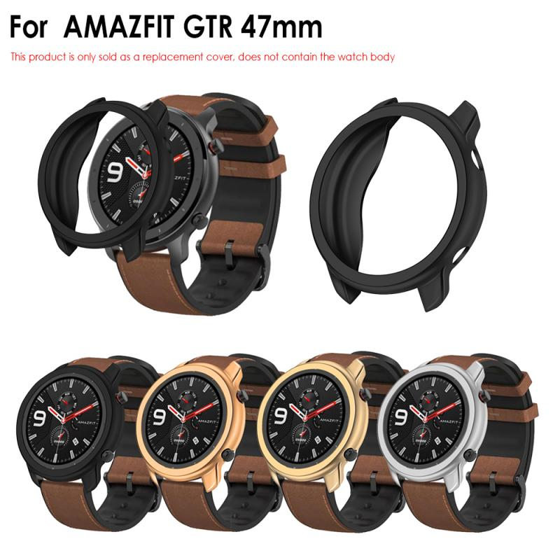 New Screen Protector Replacement PC Watch Case Cover Shell Frame Protector Smartwatch Accessories For Huami AMAZFIT GTR 47mm