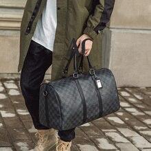 Bag Handbags Travel-Bag Trip Large-Capacity Fashion Women Hot Black Classic Male Plaid