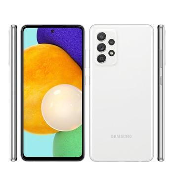 "Original Samsung Galaxy A52 5G A5260 128GB【98% New】Unlocked Dual Sim Cell Phones 6.5"" 8GB RAM Snapdragon Chipset Octa Core NFC 2"