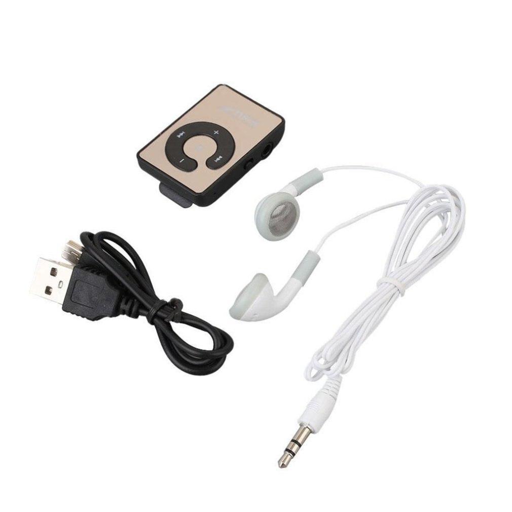 Portable Mini Clip USB MP3 Player Music Media Support Micro SD TF Card Fashion Hifi MP3 Outdoor Sports