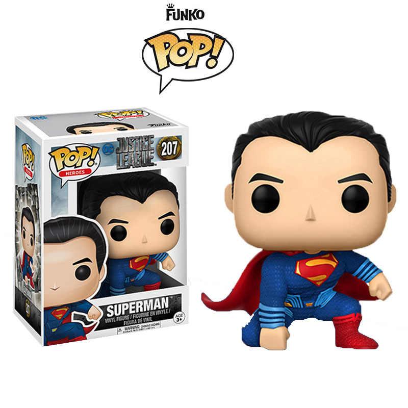 Funko Pop Джокер Харли Лига Справедливости Бэтмен против Супермена фильм винил экшн и игрушки Фигурки Коллекционная модель игрушки для детей