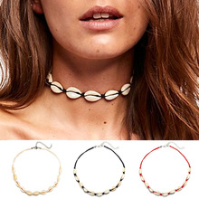 Vintage Simple Made Hand Weave Shell Choker Necklace For Women Female Retro Bohemian Ethnic Birthday Gift marketing made simple