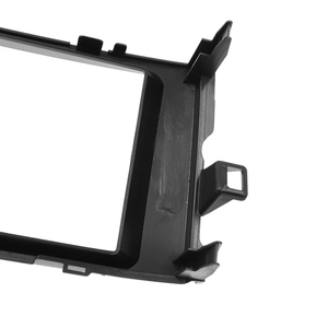 Image 5 - Double Din Fascia Stereo Plate Car Radio Surround Panel For TOYOTA Auris 2006 2012 DVD Player Refitting Frame Dash Bezel Fascias