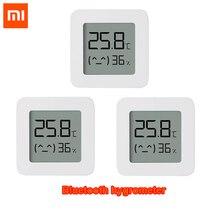 Newest xiaomi mijia bluetooth 温度計 2 ワイヤレススマート電気デジタル湿度計温度計で動作 mijia アプリ