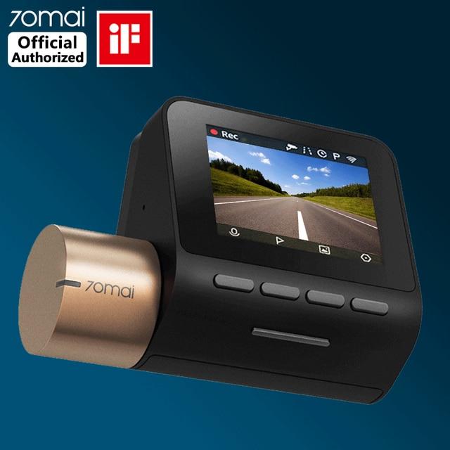 70mai Cámara de salpicadero DVR para coche, grabadora de vídeo para automóvil, control de estacionamiento 24H, 1080P, velocidad coordinada, GPS, 70 MAI Lite