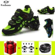 Cycling-Shoes Tiebao Mountain-Bike Mtb Sapatilha-Ciclismo Waterproof Men Wear-Resistant-Bottom