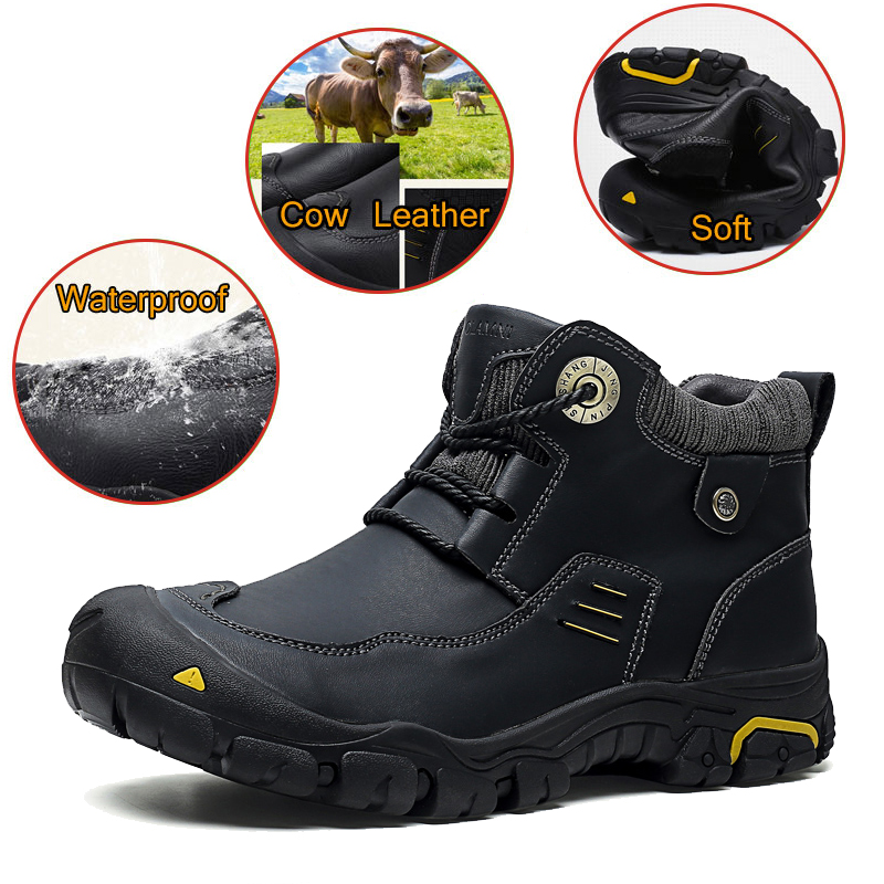 Genuine Leather Trekking Shoes