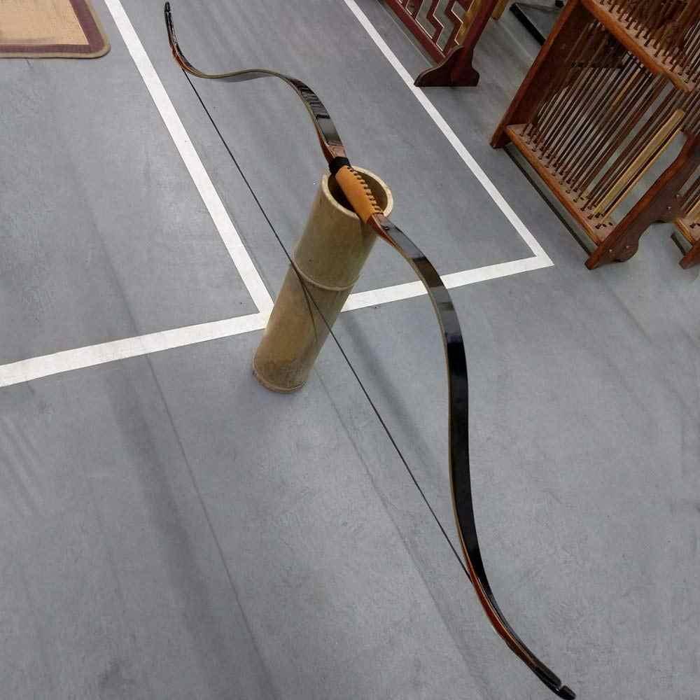 Toparchery huntingbow ハンドトルコ 30-45lbs クラシックアーチアーク伝統的な速度で高速ロープパッドアーチェリー積層弓