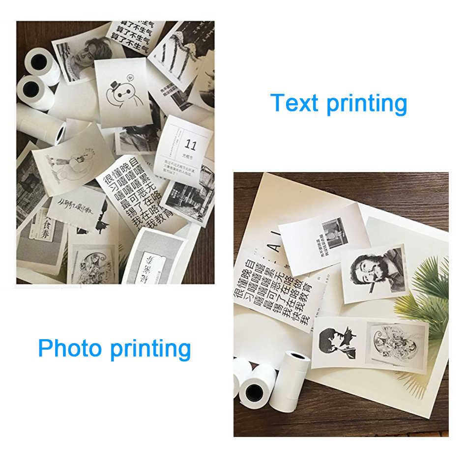 Peripage ミニポータブル熱プリンター写真ポケットフォトプリンタ 58 ミリメートル印刷ワイヤレス bluetooth アンドロイド ios プリンタ