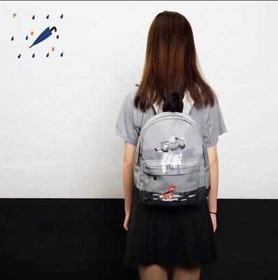 TANTO nouvelle mode Original créatif conçu sacs à dos avec impression numérique et broderie unisexe sac d'école style preppy 2019