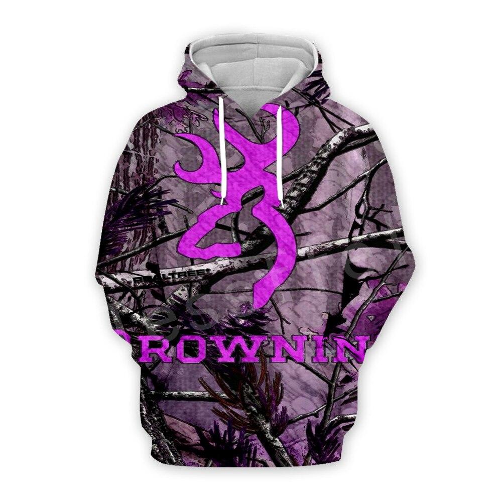 Tessffel Tracksuit Hunting Hunter Animal Camo Colorful New Fashion Casual 3DPrint Zipper/Hoodies/Sweatshirt/Jacket/Men Women S-1