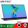 UPERFECT 4K Портативный монитор с сенсорным экраном, тяжести Сенсор автоматический поворот 15,6 ''тонкий 10 точек касания UHD 3840x2160 Дисплей