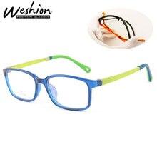 Анти-синий светильник, очки для детей, подростков, мальчиков, девочек, подростков, оправа, сплав, защитные очки, прозрачные, отражающие, оптические, Gamiing UV4