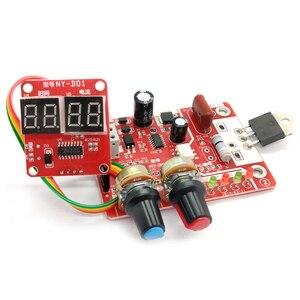 Image 1 - Панель управления аппаратом для точечной сварки, строительная плата управления, плата управления таймером, током, временем и током, цифровой дисплей 40 А/100 А
