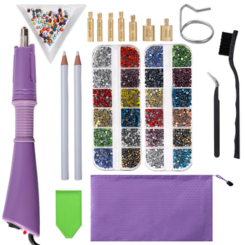 professional vaccum hot fix applicator with 3 tips suit for all stone size 120v 220v hot fix machine for hot fix rhinestones 2000pcs-9600Pcs/Box Hot Fix Rhinestones Set /Hot Fix Rhinestones Hotfix Applicator Crystal Glass Hot Fix Rhinestone for Clothing