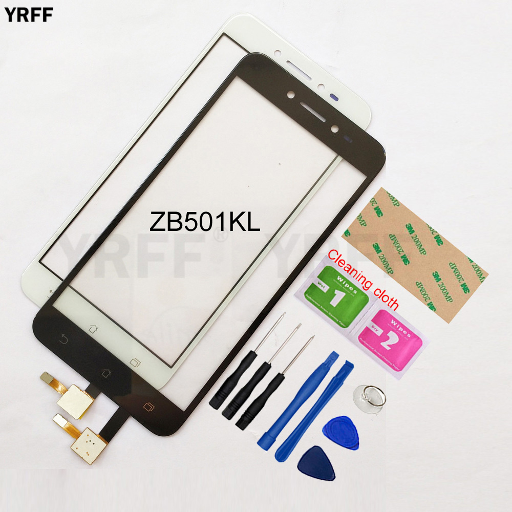 5.0'' Touchscreen For Asus ZenFone Live ZB501KL Touch Screen Digitizer Sensor Glass Panel Replacement
