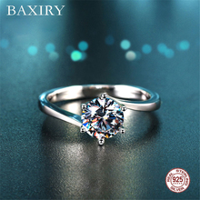 Trendy Amethyst Gemstones Silver Ring Blue Sapphire Ring Engagement Cocktaill Rings Silver 925 Jewelry Aquamarine Ring For Women chic floral faux sapphire ring for women