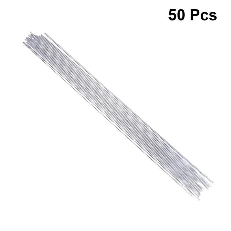 WINOMO 50pcs Aluminum Welding Electrodes Flux Cored Low Temperature Brazing Wire Air Condition Repairing Rods