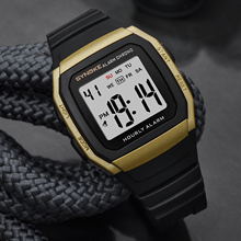 SYNOKE New Arrival Casual Men's Sports Digital Watch Military Army LED