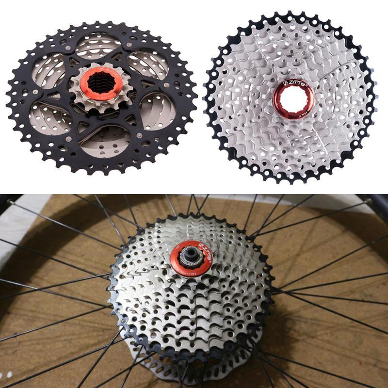 ZTTO 9 скоростная кассета высокопрочная сталь 11 40T широкое соотношение маховик для горного велосипеда MTB        АлиЭкспресс