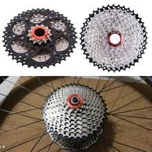 Ztto cassete de 9 velocidades, aço de alta elasticidade, 11-40t, relação larga, roda livre, mountain bike, mtb, bicicleta sprocket volante