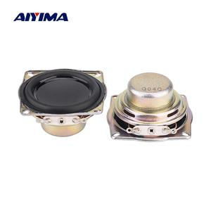 Aiyima 2 pçs 1.5 Polegada alto-falante de áudio gama completa altavoz 4 ohm 10w neodímio altifalante magnético diy amplificador de potência som alto-falante