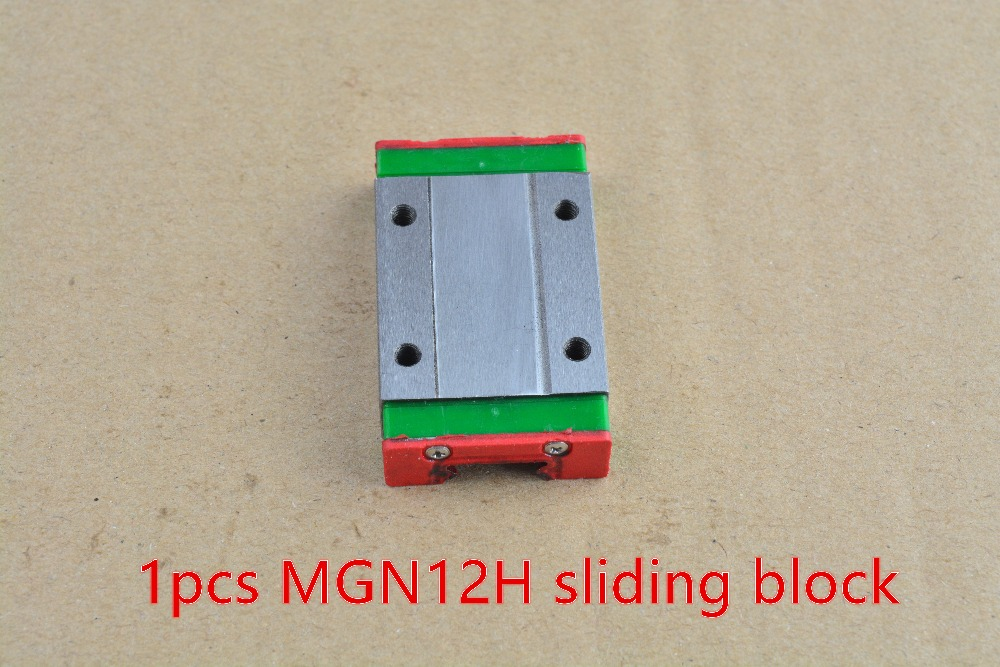 H-Type,500mm-2 Usongshine MGN12H Linear Bearing Sliding Block Match use with MGN12 Linear Guide for CNC xyz DIY Engraving Machine