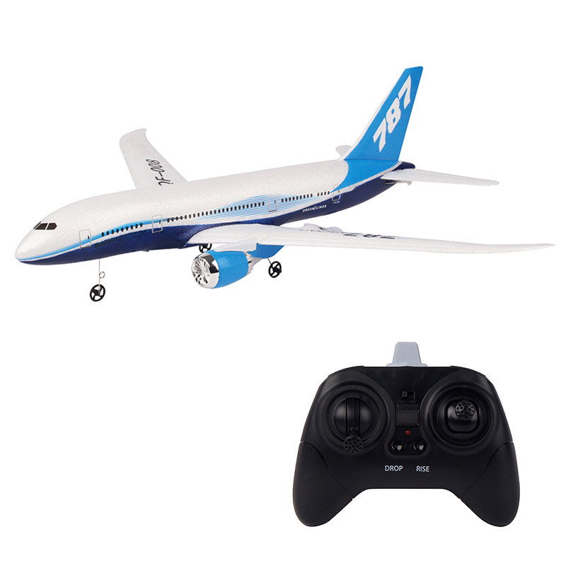 Cross Border QF008 Remote Control Glider Boeing 787 Fixed-Wing Children Electric Remote Control Aircraft Model
