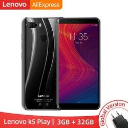 Global Versão Lenovo K5 Jogar 3 GB 32 GB Snapdragon 430 Octa Core de Smartphones 1.4G 5.7