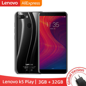 Lenovo K5 Play 3GB 32GB WCDMA/GSM/LTE Octa Core Fingerprint Recognition 13mp New Smartphone