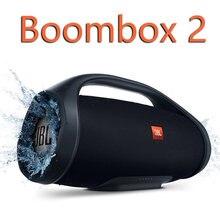 Boombox alto-falante bluetooth alta fidelidade ipx7 à prova dparágua partybox portátil música sem fio som subwoofer alto falantes boombox 2 altifalante
