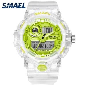 Новинка 2020, Женские кварцевые наручные часы с автоматической датой, секундомером, будильником, белые часы 8023, женские часы для женщин