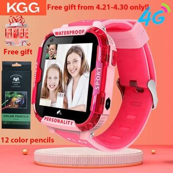 Смарт-часы 4G с сетевым Wi-Fi GPS SOS, Детские Смарт-часы с видеозвонком IP67, водонепроницаемые часы с камерой, детские часы VS Q50 Q90