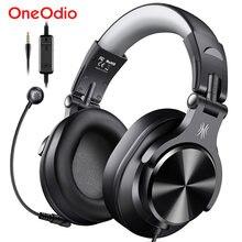 Oneodio A71D Computer Gaming Headset Mit Abnehmbarem Mikrofon Verdrahtete Über Ohr Call Center Kopfhörer Für PC Skype Büro Gamer