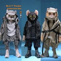 Mr.Z PZCS007 Pocket 7 Zootopias Collection Series No.2 Noodle/ Dumpling/ Donut Figure Animal Collection Toys 17.2cm