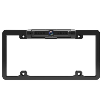 American Car License Plate Frame Wireless Backup Camera Wifi Reversing Rear View Camera for Car Rvs Pickup Card 170 Degree Flexi