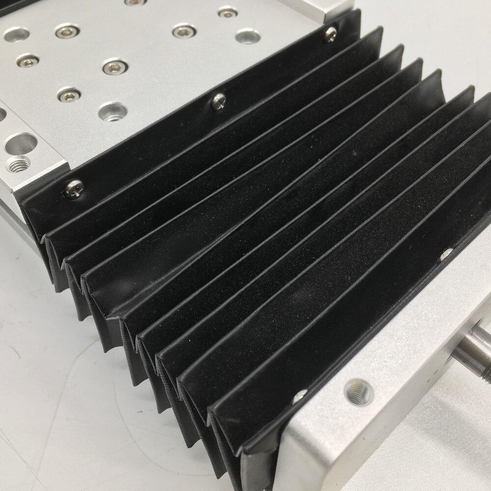 500 мм ход ЧПУ тяжелая нагрузка Электрический раздвижной стол и пылезащитная крышка слайд линейный сценический SFU1605 C7 шариковый винт SBR напра...
