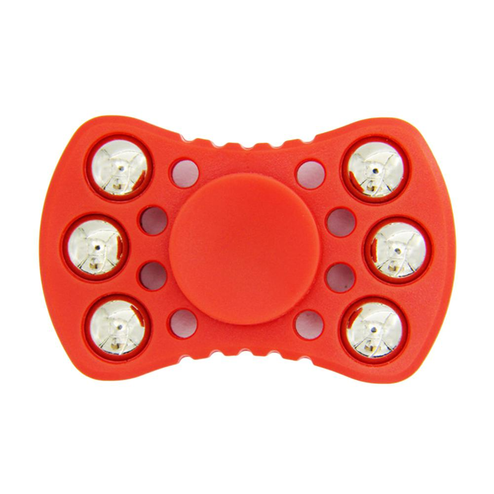 Creative Fidget Spinner EDC Hand Spinner with Six Metal Beads Stress Anxiety Reducer Focus Toy for Kids Adult enlarge