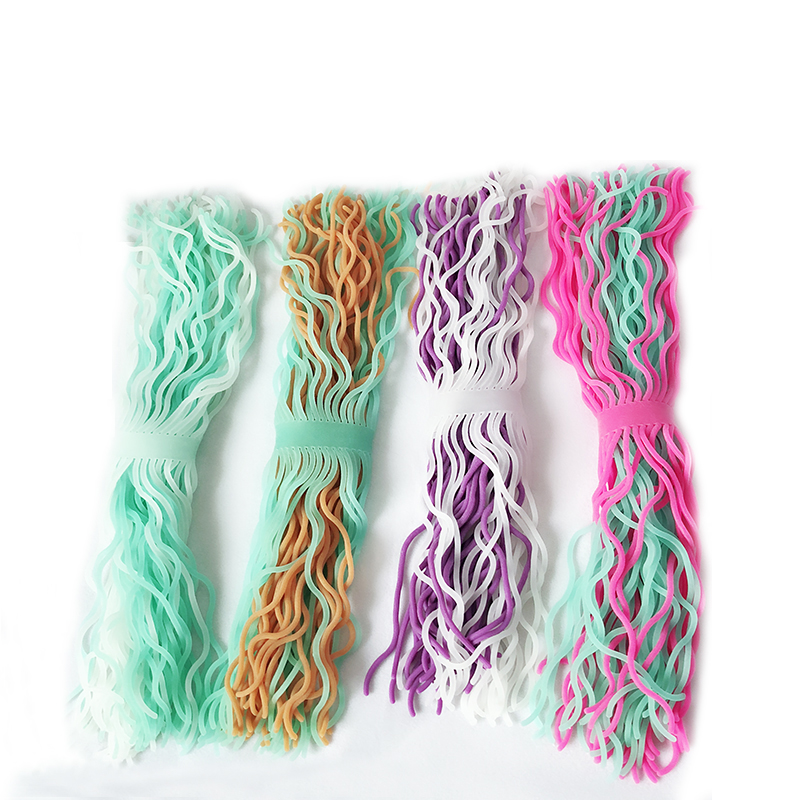 2colors/set Hand Hyperflexion Stretchy Antistress Jokes Noodles Rope Toy Anti Stress Toys String Fidget Autism Vent Kids Toys