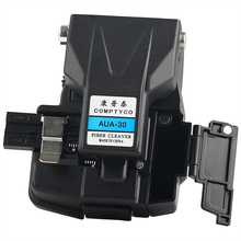 COMPTYCO AUA 30 optical fiber cutter High Precision fiber cleaver with waste box same CT 30 Fiber Cleaver