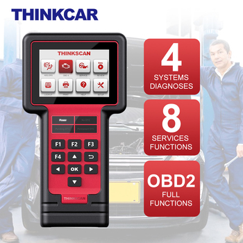 THINKCAR ThinkScan 609 Automotivo OBD2 Scanner Professional Full OBD 2 4 System Diagnosis 8 Service Function Car Diagnostic Tool launch x431 pro mini with bluetooth function full system 2 years free update online mini x 431 pro powerful auto diagnostic tool