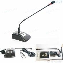Micrófonos de cuello de cisne de escritorio para mezclador, sala de reuniones, PC, portátil, red, Chat de voz, videoconferencia
